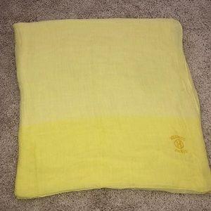 Hermès yellow scarf